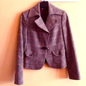 United Colors of Benetton Tweed Short Blazer